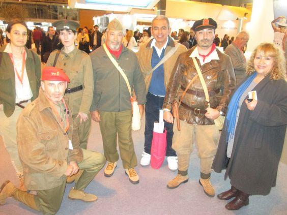 Sobrevivientes de la Guerra civil española.