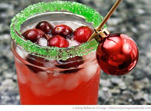 Cranberry margaritas!
