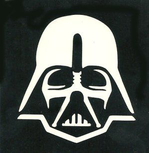 Gar ons darth vader and google on pinterest - Pochoir star wars ...