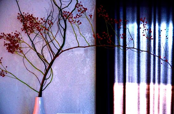 Decorate at Christmas With Rose Hip Branches
