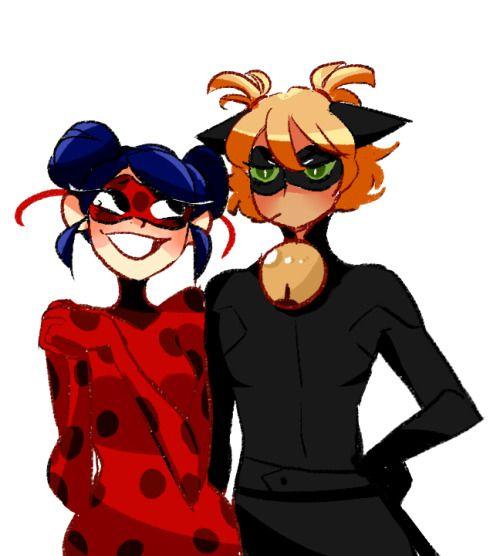Miraculous ladybug | hehehehe those pig tails really suit you~