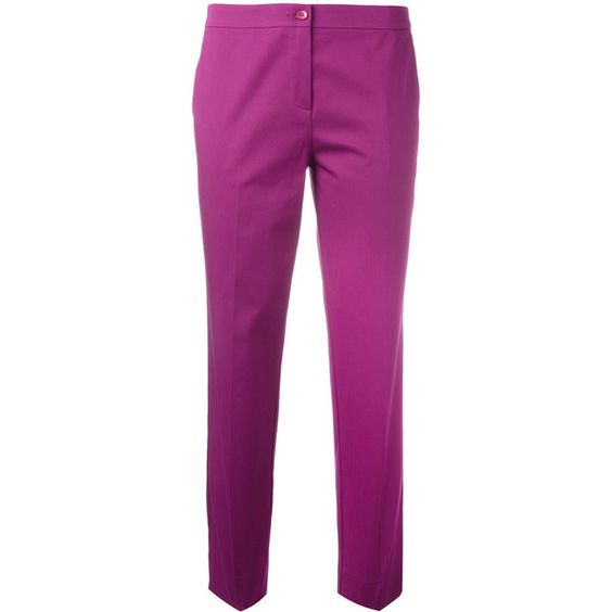 Etro tailored cropped trousers (1.880 RON) ❤ liked on Polyvore ...