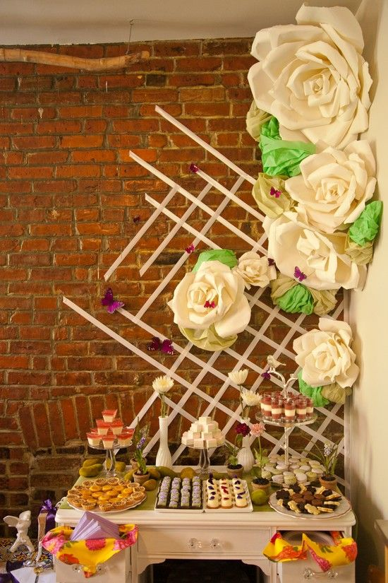 A super cute diy bridal shower in new york city for Indoor gardening nyc