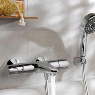 Grohe Precision Trend thermostatische badkraan | Badkranen | Kranen | Sanitair, verwarming & ventilatie | GAMMA.be