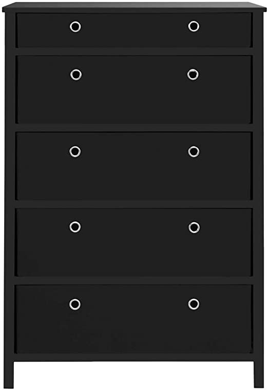 Ben Amp Jonah Black Primehome Collection Ez Home Solutions Foldable Furniture 5 Drawer Tall Dresser 45 Rdquo X 3 Foldable Furniture Tall Dresser Diy Drawers
