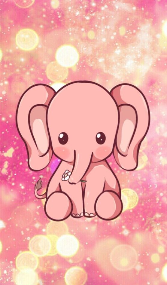 Pin By Sister Emily On Cute Pink Elephant Elephant Phone