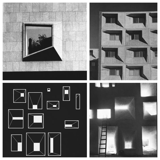Éloge - Change your perspective #LeCorbusier #window #perspective #graphicshadow #pointofview #black #white #front #architecture #graphicarchitecture #inspiration