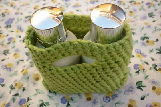 Simple Crochet Gift Bag - free pattern