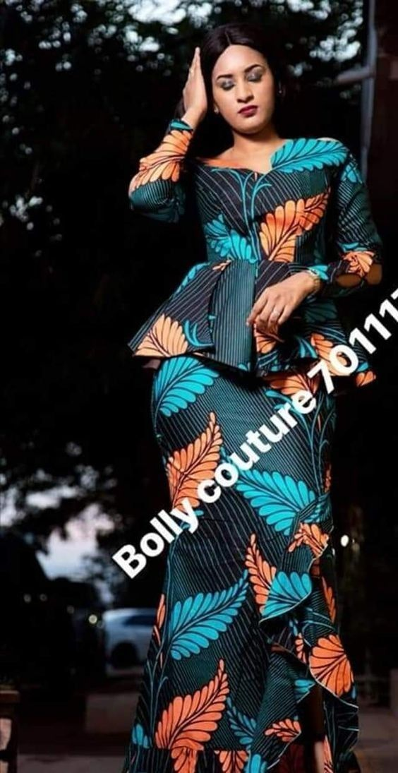 2019 Latest Trending And Stunning Ankara Long Skirt And Blouse Styles For In 2020 African Fashion Skirts Latest African Fashion Dresses African Print Fashion Dresses