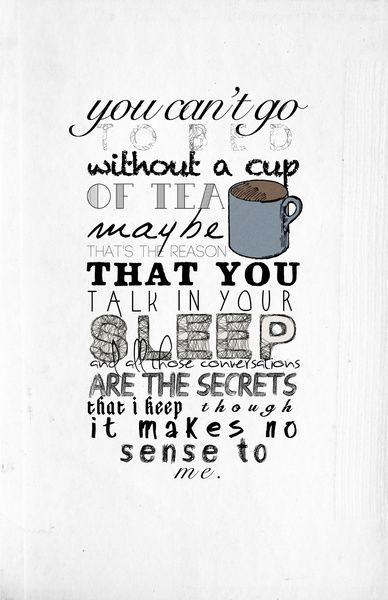 One Direction: Little Things Art Print.  UHM, I NEED THIS.