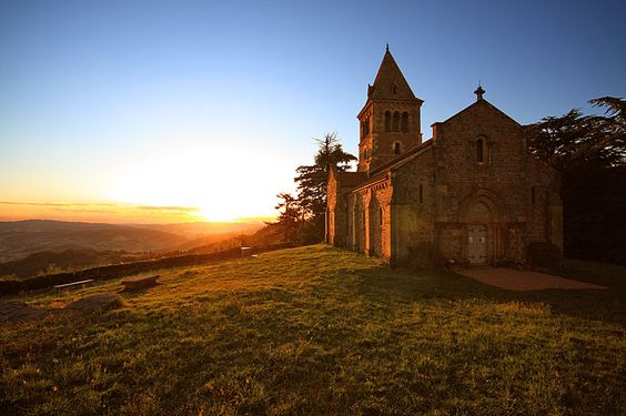 Chapelle de Dun, Burgundy, France