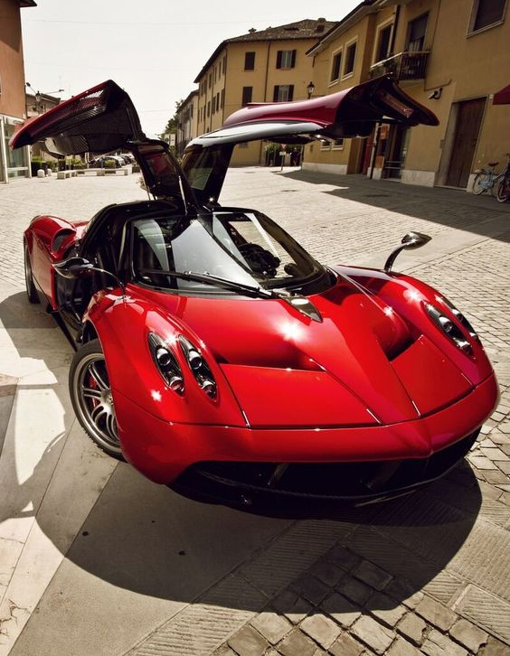 ☆ Pagani Huayra ☆ LOVE THIS! 106 St Tire aligns exotic cars price starts at only $45 http://www.106sttire.com/wheel-alignment