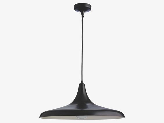 Option depending on lead time CLEMENCE Metal Black metal pendant light -  HabitatUK