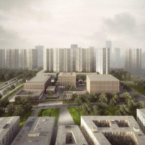 Longhua Art Museum and Library,Cortesía de Mecanoo