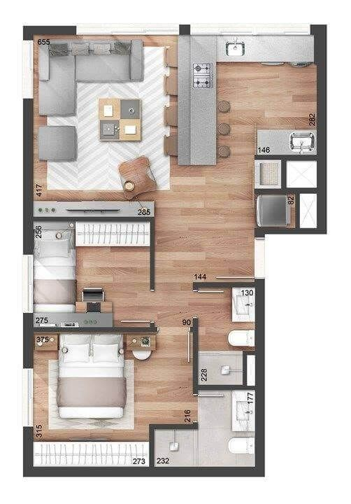 Top 40 3d Floor Plan Ideas Engineering Discoveries In 2020 Sims House Plans Small House Design Small House Design Plans