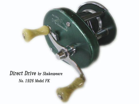 vintage shakespeare fishing reels | vtg shakespeare direct drive, Reel Combo