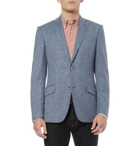 Richard James Donegal Wool-Blend Tweed Blazer