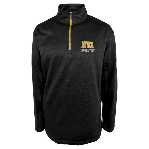 Iowa Hawkeyes Men's 1/4 Zip Sweatshirt