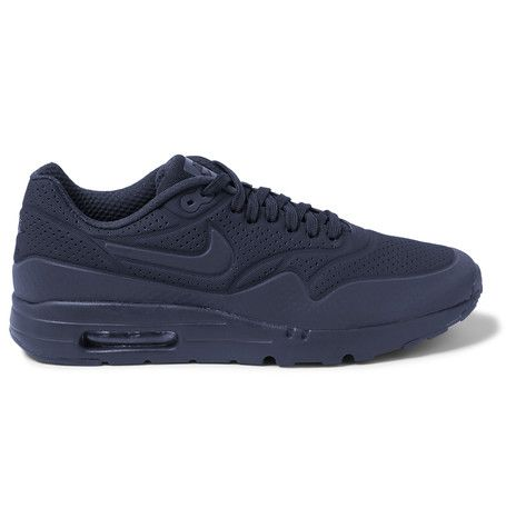 NIKE Air Max 1 Ultra Moire Coated Mesh Sneakers. #nike #shoes #sneakers