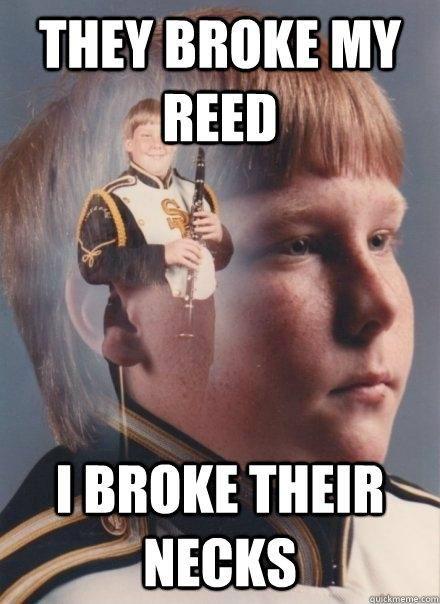 Band memes, omg. As a saxophone player, I definitely do ...
