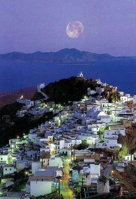 Hora of Serifos, Greece
