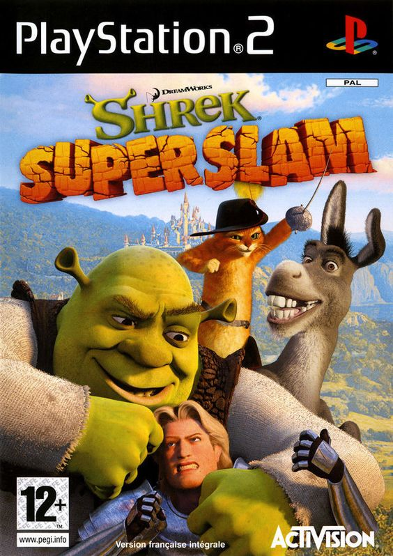 Shrek Super Slam - PS2 - PAL - Avec Notice