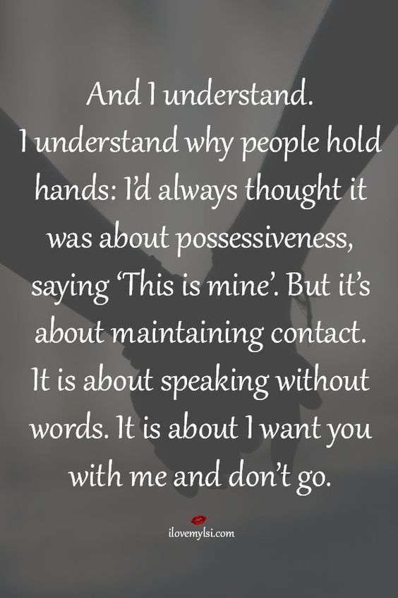 I understand why people hold hands | Don't let, So true ...