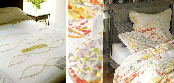 beachy pastel bedding