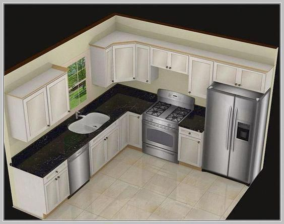 1000 Ideas About Small L Shaped Kitchens On Pinterest Kitchens With Islands Id Small Kitchen Design Layout Kitchen Designs Layout Small Kitchen Layouts