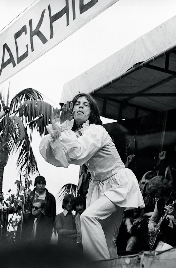 Mick Jagger, HYDE PARK, ENGLAND, 1969 THE Hyde Park concert, London, July 1969 © Ken Regan