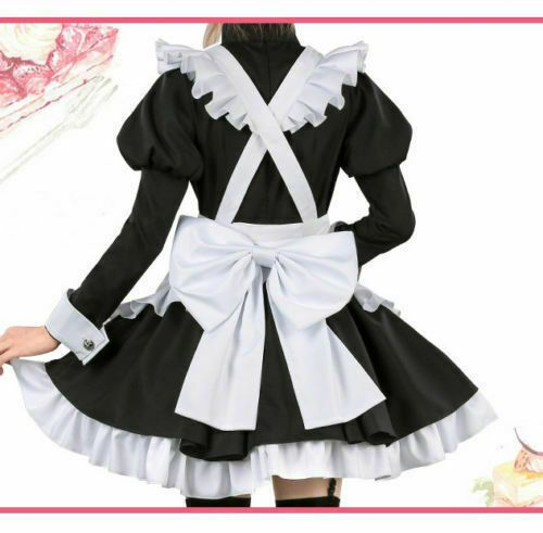 Fate Apocrypha FGO Astolfo Maid Servant Uniform Dress Cosplay Costume Women Men