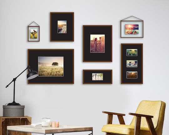 Purchase The Coffee Leather Float Gallery Frame By Studio Decor