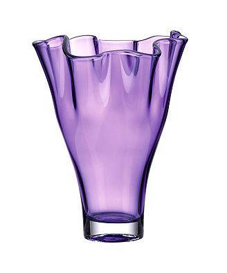 Lenox Vase Organics Purple Centerpiece Lavender