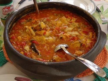 Receita de Moqueca de Peixe com Pirão - Tudo Gostoso