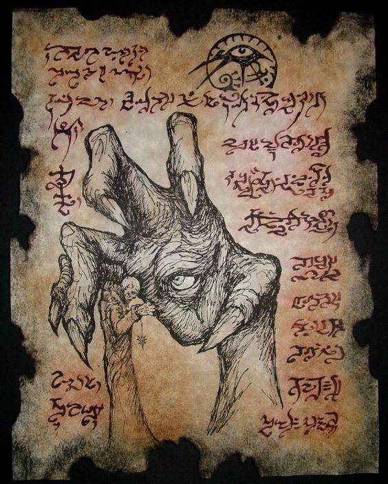 El Necronomicón,un libro salido de los infiernos 5f7d33f81d9166113a56621de554a9f2