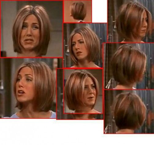 Jennifer Aniston Bob Friends Season 7 Shorthaircut Short Haircut Lob In 2020 Jennifer Aniston Hair Rachel Green Hair Jennifer Aniston Short Hair