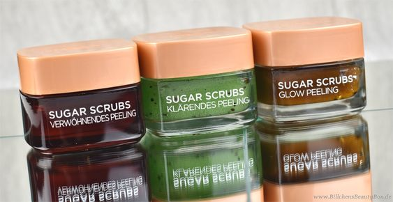 [Review] L'Oréal Sugar Scrubs