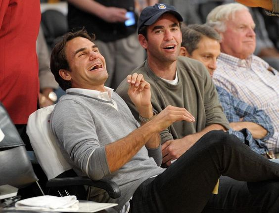 Rare Photos of Roger Federer - Tennis - SI.com MY TWO FAVORITES!!!