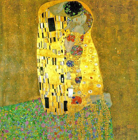 'The Kiss' by Gustav Klimt
