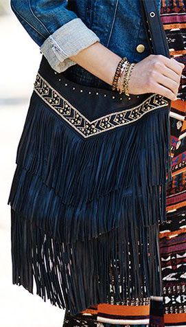 where to buy chloe bags - Ash | Layla Embellished Fringe Leather Hobo | Sponsored by ...