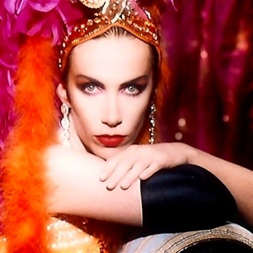 Annie Lennox - love her voice!  And someday I'm gonna be really brave and get a super cute short haircut like hers!