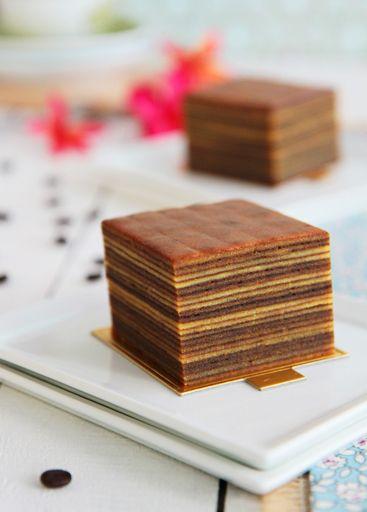 Layered Spice Cake