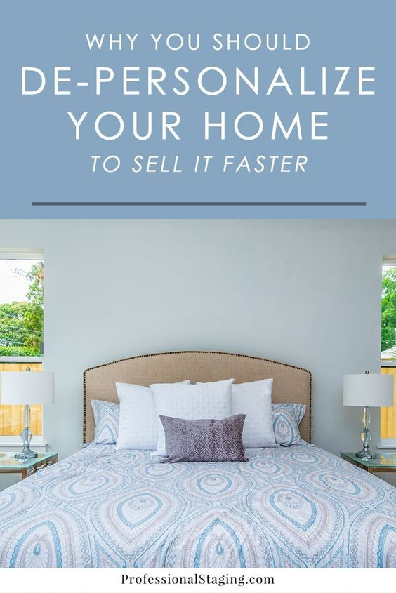 """Think putting your home on the market """"as-is"""" is good enough? Here's why it's crucial to de-personalize your home with home staging to sell it faster and for more money."""