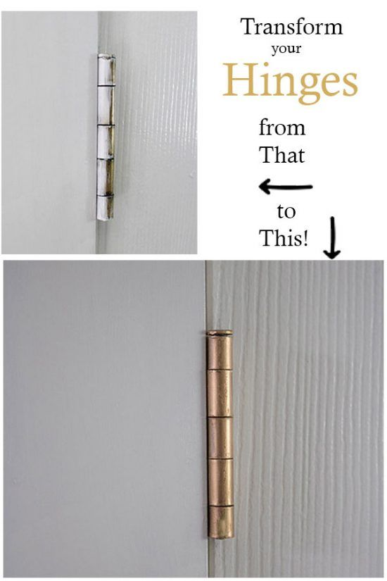 How To Remove Paint From Door Hinges The Honeycomb Home Paint