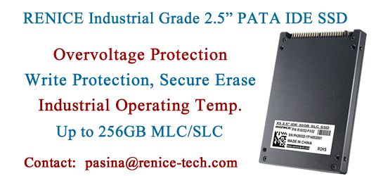 RENICE Industrial 25\u201d PATA IDE SSD, 256GB MLC/SLC, OverVoltage - social security request form