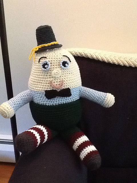 Free Humpty Dumpty Knitting Pattern : Pinterest   The world s catalog of ideas