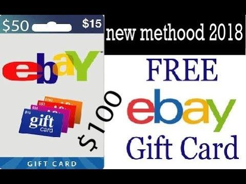 Last Update 2018 Get Free Ebay Gift Codes Ebay Gift Card Free Ebay Coupon Discount Codes Free100 Working Like This Video For Ebay Coupon Code Red Robin Gift Card Code Free
