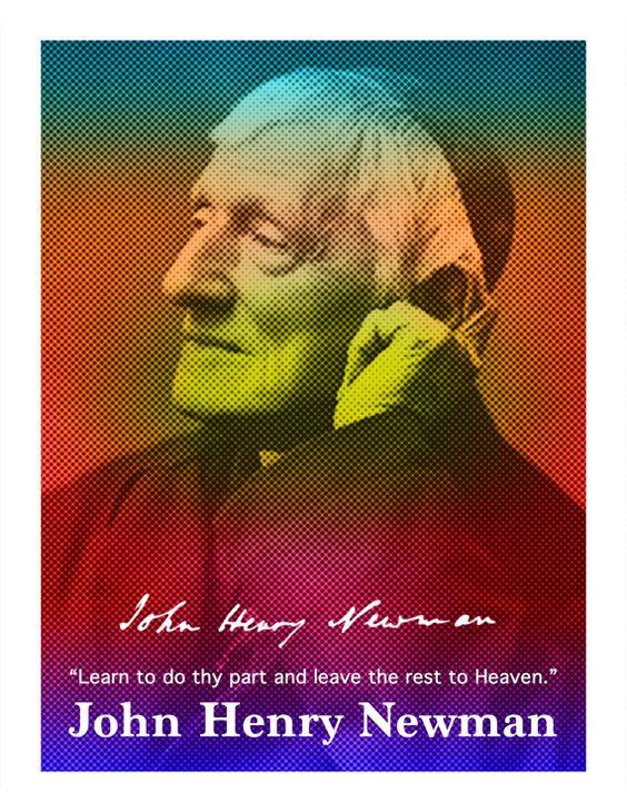 John Henry Newman Quotes | John Henry Newman Quote Poster by SeattletownStore on Etsy