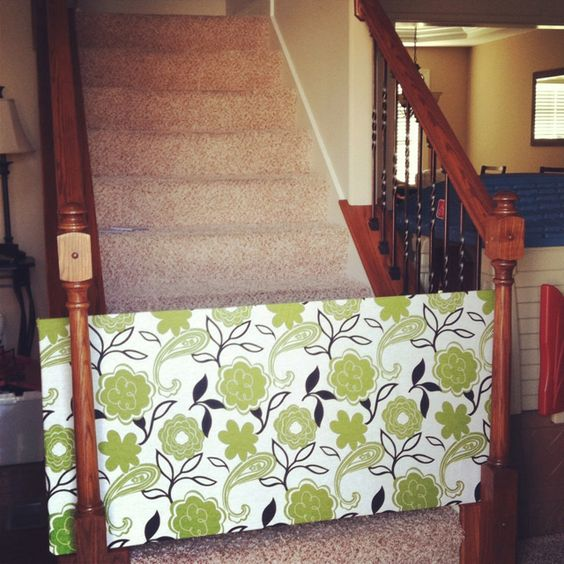 Dog Gate Pvc Pipe And Fabric So Much Better Than Baby