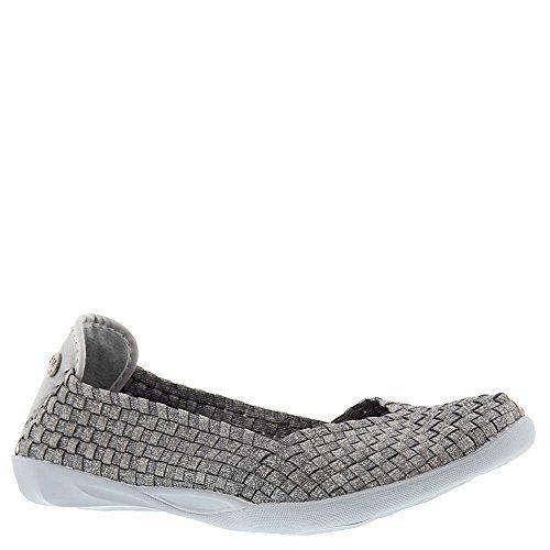 Best Flat Shoes | Bernie Mev Womens Braided Catwalk Flat Heather Grey 75 BM  US *